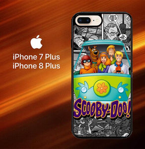 Custodia Cover iphone 7 plus 8 plus scooby doo friends L0159 Case