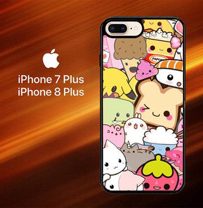 Custodia Cover iphone 7 plus 8 plus Kawaii Picture Cute L0171 Case