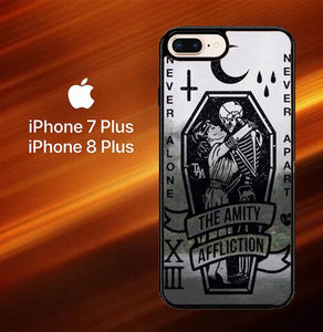 Custodia Cover iphone 7 plus 8 plus Amity Affliction Band L1344 Case