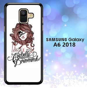 Custodia Cover samsung galaxy A6 2018 Arabella Drummond L1377 Case