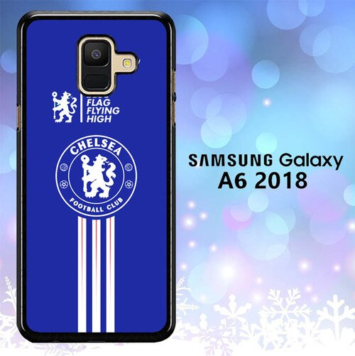 Custodia Cover samsung galaxy A6 2018 Chelsea Club Football Logo L1983 Case