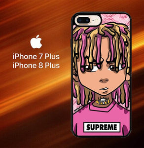 Custodia Cover iphone 7 plus 8 plus Lil Pump Xboondocks Supreme L2098 Case