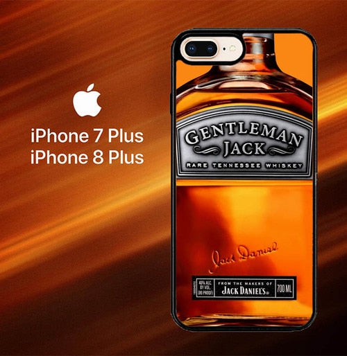 Custodia Cover iphone 7 plus 8 plus Gentleman Jack Daniels Rare Tennessee Whiskey L2167 Case