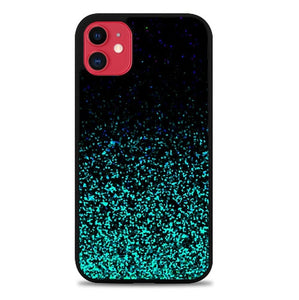 Custodia Cover iphone 11 pro max Mint Sparkle L2832 Case