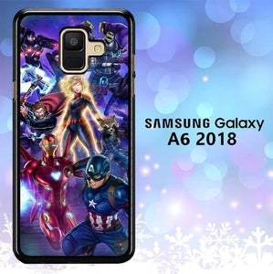 Custodia Cover samsung galaxy A6 2018 Avengers Endgame Cartoon L2924 Case