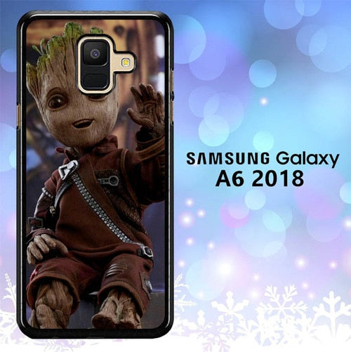 Custodia Cover samsung galaxy A6 2018 Baby Groot L3097 Case