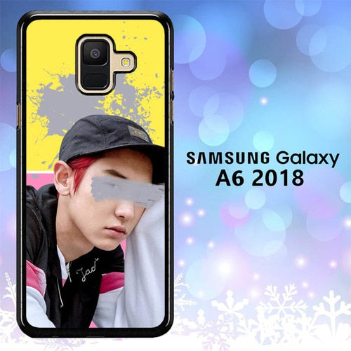 Custodia Cover samsung galaxy A6 2018 Chaenyeol L3106 Case