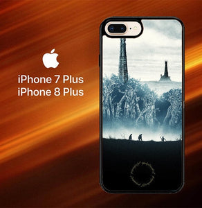 Custodia Cover iphone 7 plus 8 plus 9 Heroes From The Lord Of The Rings Y0244 Case