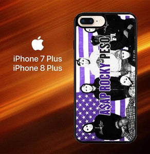 Custodia Cover iphone 7 plus 8 plus Asap Rocky Peso Y0527 Case