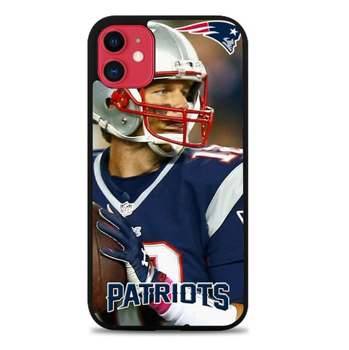 Custodia Cover iphone 11 pro max new england patriots W8763 Case
