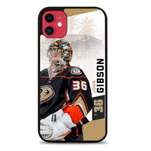 Custodia Cover iphone 11 pro max anaheim ducks W8770 Case