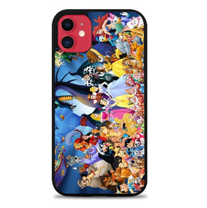 Custodia Cover iphone 11 pro max disney all characters W8804 Case