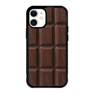 custodia cover iphone 12/12 mini/12 pro/12 pro max Cokelat P1003