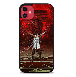 Custodia Cover iphone 11 pro max James NBA Player P0604 Case
