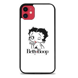 Custodia Cover iphone 11 pro max Betty Boop White Background P0615 Case