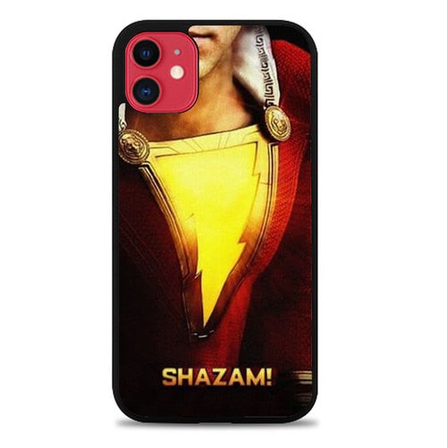 Custodia Cover iphone 11 pro max Shazam DC Superhero P0632 Case