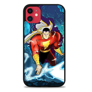 Custodia Cover iphone 11 pro max Shazam Superhero P0633 Case