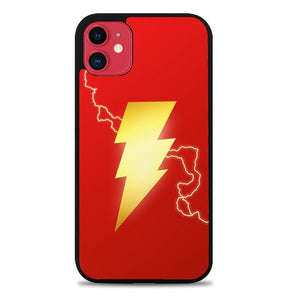 Custodia Cover iphone 11 pro max Shazam Logo P0638 Case
