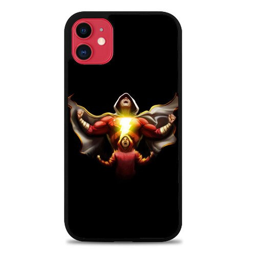 Custodia Cover iphone 11 pro max Shazam DC Comic Art P0640 Case