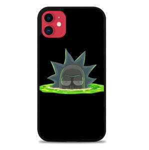 Custodia Cover iphone 11 pro max Rick And Morty P0647 Case