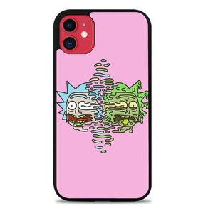 Custodia Cover iphone 11 pro max Rick And Morty Pink P0658 Case
