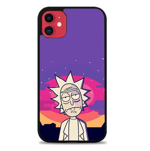 Custodia Cover iphone 11 pro max Rick And Morty Rick P0659 Case