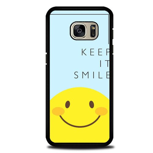 Custodia Cover samsung galaxy s7 s7 edge plus Keep And Always Smile P2006 Case