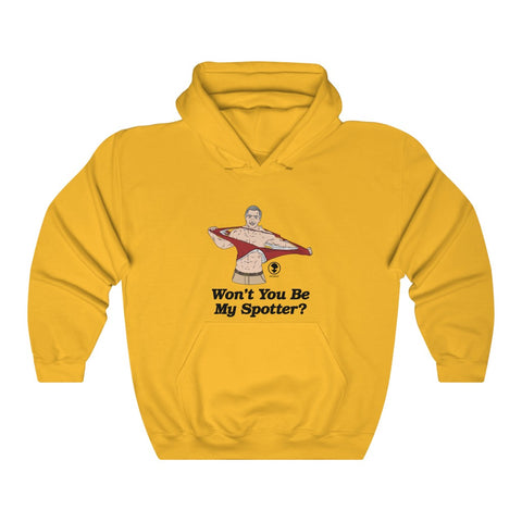 Won't You Be My Spotter Hoodie