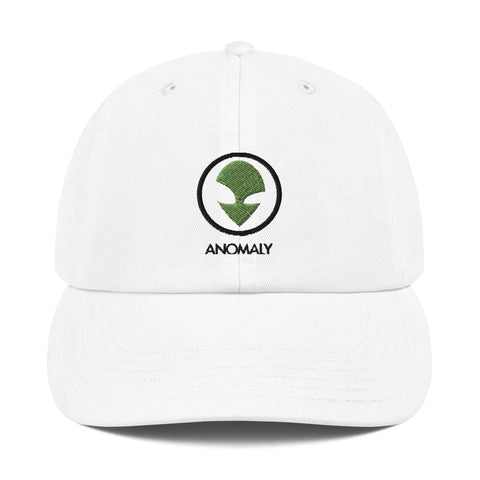 Champion Green Alien Dad Hat