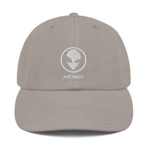 Champion White Alien Dad Hat