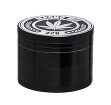 Load image into Gallery viewer, Magno Mix 50mm 4 Part Grinder - BLACK