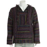 Load image into Gallery viewer, Mexican Baja Jerga Hoody - Multi fleck