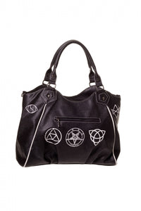 Black Skull Pentagram Bag