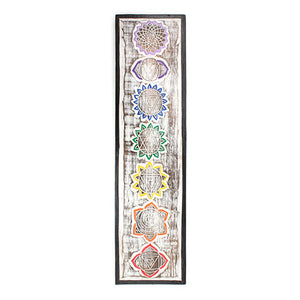 Chakra Wooden Plaque
