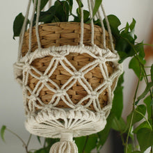 Load image into Gallery viewer, Macrame Pot Holder - Single Small Pot