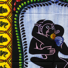 Load image into Gallery viewer, Handbrushed Cotton Wall Art - Kamasutra