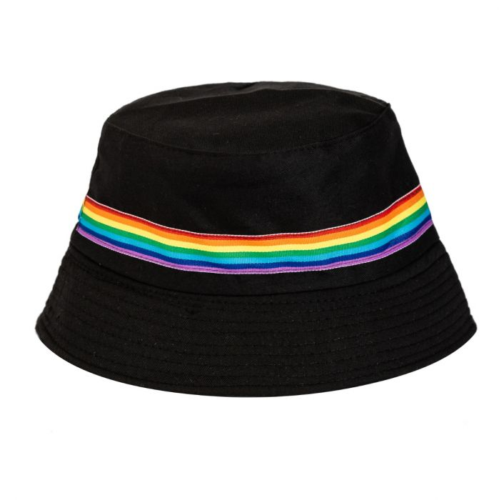Black + Rainbow Band