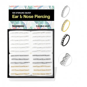 Glitzy Nose/Ear Hoops