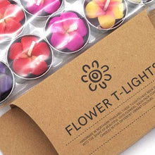 Load image into Gallery viewer, Frangipani Flower Tealights