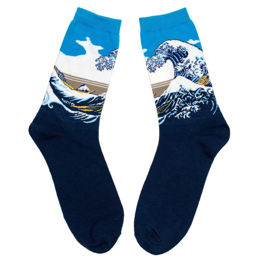 Socks - Hokusai The Great Wave Of Kanagawa