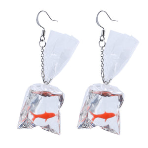 Goldfish Winner Drop Earrings
