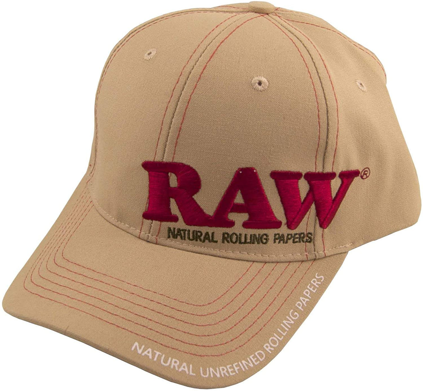RAW Poker Cap - CREAM