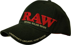 RAW Poker Cap - BLACK