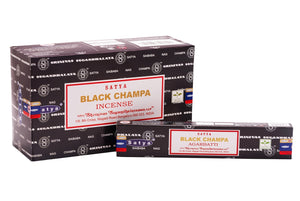 BLACK Nag Champa Incense Sticks