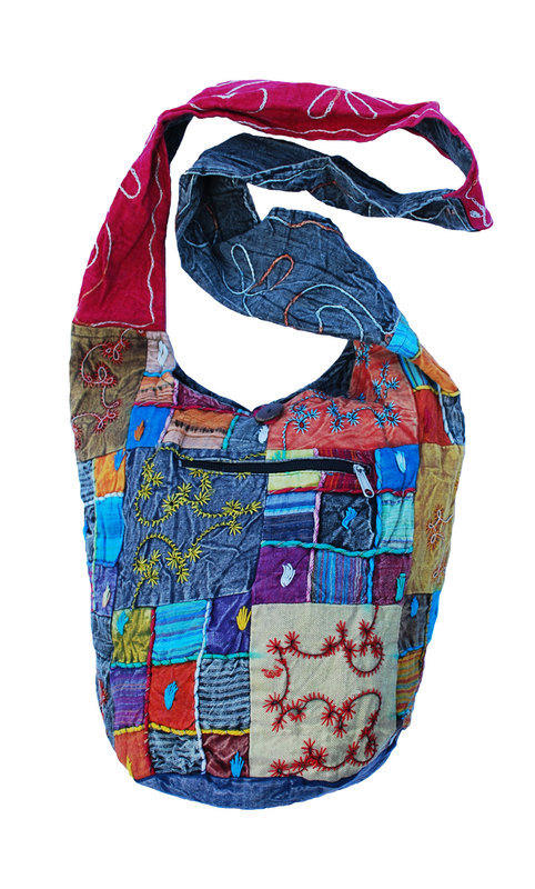 Patchwork shoulder Bag 2