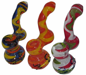 Glass Bubbler No.4