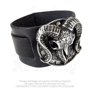 Gears Of Aiwass Bracelet by Alchemy Gothic