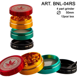 Grace 50mm 4 Part Grinder - RASTA