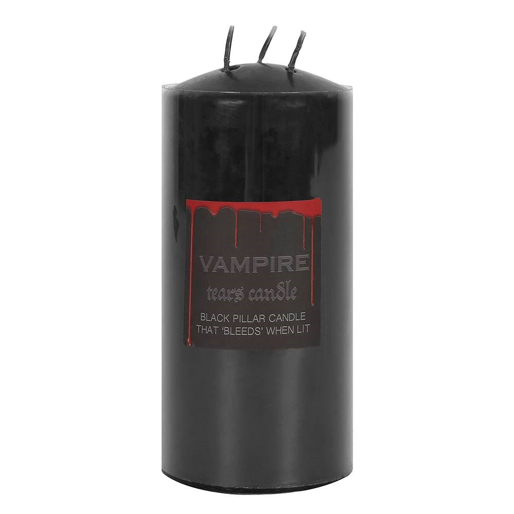 VAMPIRE TEARS PILLAR CANDLE - 15CM