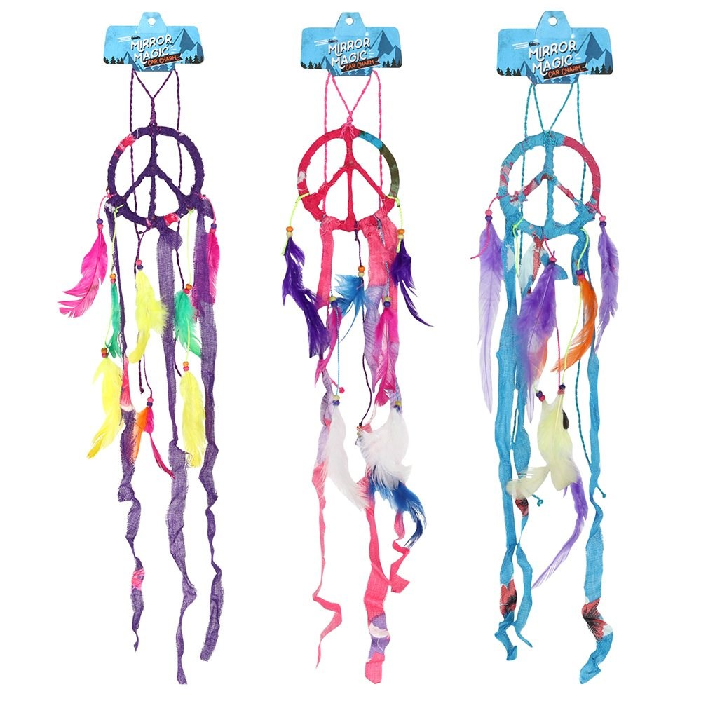 Lucky Dreamcatcher Car Charm